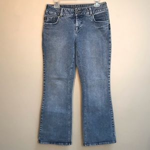 Silver Bootcut Medium Wash Jeans Size 30